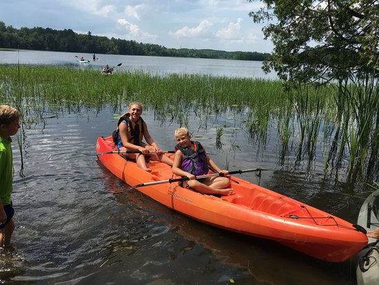 Grand Rapids, MN: Paddling a great family activity.  Come for an hour or two!