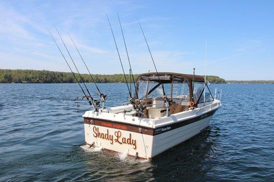 Henderson Harbor, NY: Shady Lady herself!