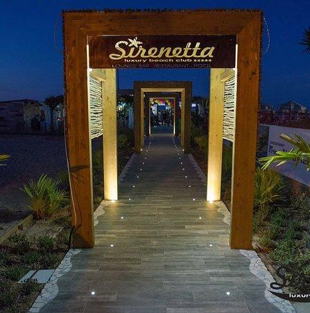 Bar del Sirenetta Luxury Beach Club
