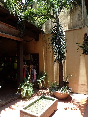 Casa Antigua: courtyard