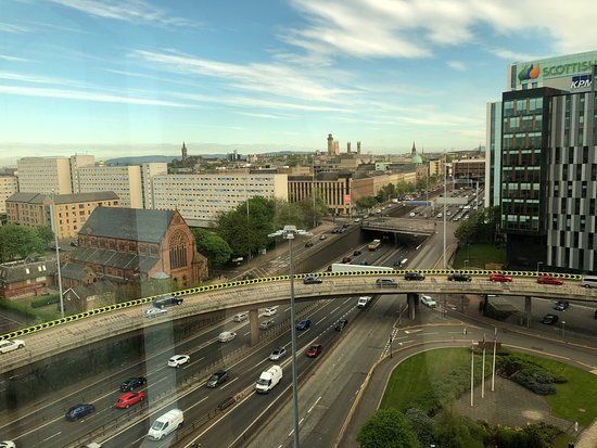 Hilton Glasgow: View from 11th floor