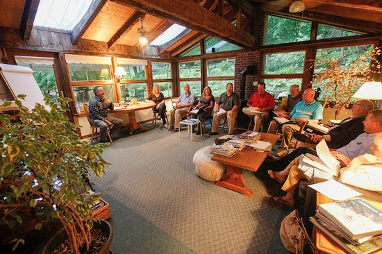 Warren, VT: Business meeting in the relaxed setting of the Sun Room