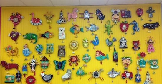 Our famous clock wall! @ Artsy Abode Ormond Beach