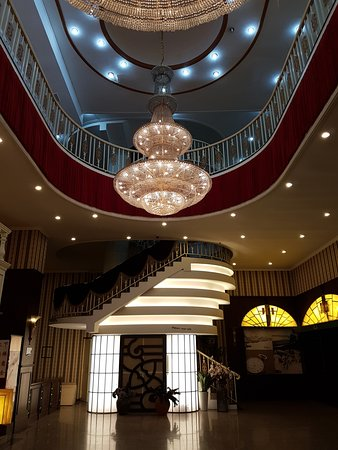 ERA Acrobats: Inside the lobby of the theatre