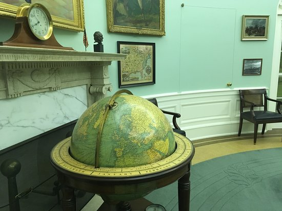 Independence, MO: Globe presented Truman by then Gen. D. D. Eisenhower.