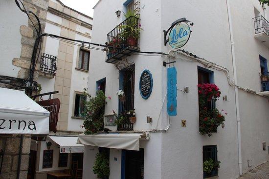Casa de Las Conchas: Peniscola, старый город