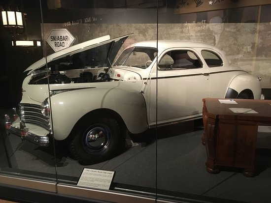 Independence, MO: Truman owned this coupe and a sedan driven by wife Bess.