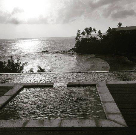 Bacolet Bay, Tobago: Breathtaking sunset