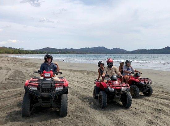 Flamingo Adventures - Day Tours: Riding the ATV's on Playa Conchal