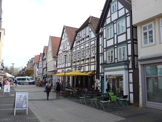 Historische Altstadt: Detmold, Old Town, Koeller Schuelerstrasse