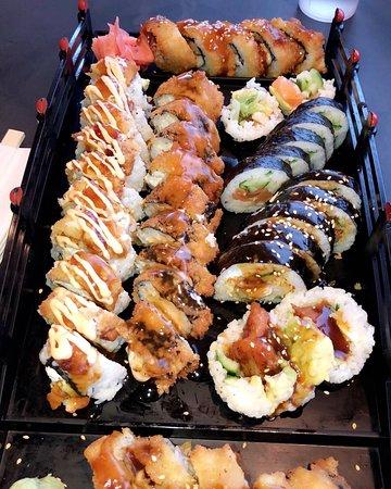 Cranston, RI: Sushi Rolls