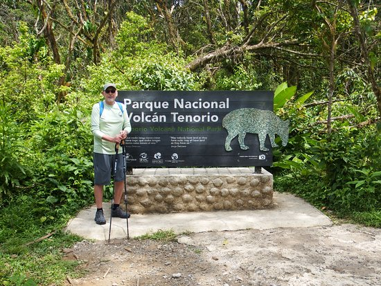 Tenorio Volcano National Park, Costa Rica: Entrance to the Park