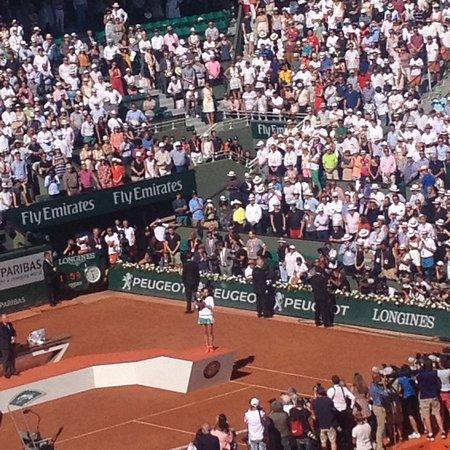 Stade Roland Garros: Finals