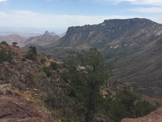 Lost Mine Trail : view from the top