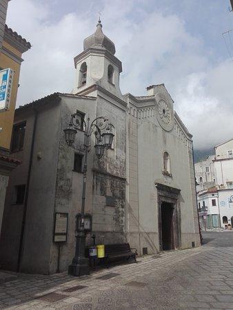 Maratea, Itália: Esterno della Chiesa