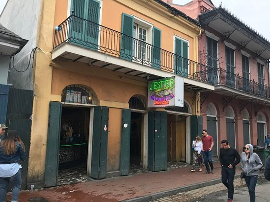 Jester Mardi Gras Daiquiris - 619 Bourbon Street