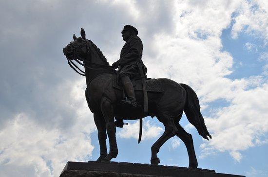 Konstantin Rokossovskiy Statue