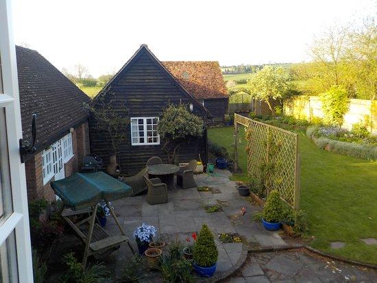 Downton, UK: Innenhof