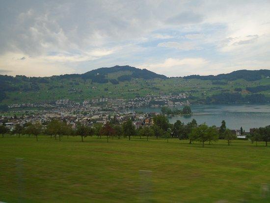 Lake Lucerne: Lago de Lucerna, Suiça