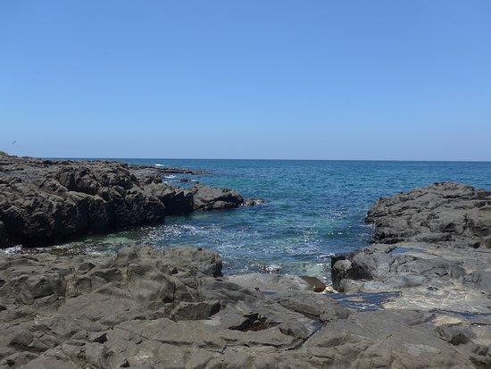 Los Santos Province, Panama: Beach along the walk
