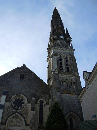Martigne-Briand, France: Clocher de l'église