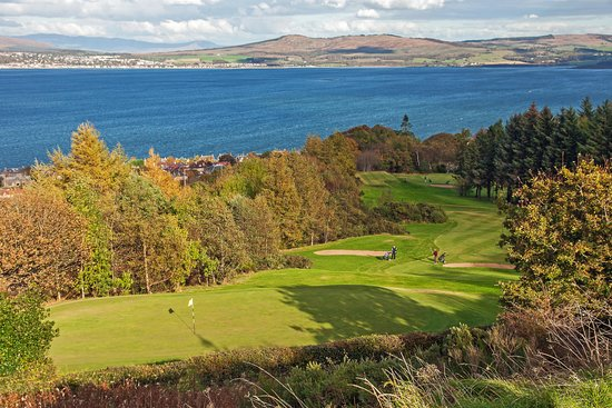 Inverkip, UK: Lovely views from the golf course