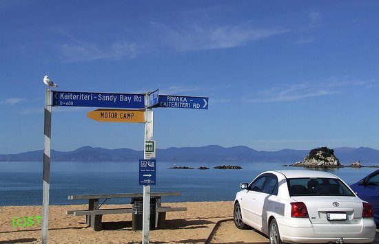 Kaiteriteri, New Zealand: beautiful sandy water front