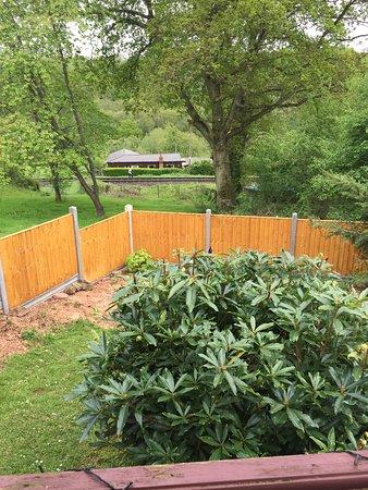 Highley, UK: View from verandah