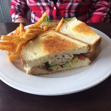 Loleta, Californie : Fiesta turkey sandwich