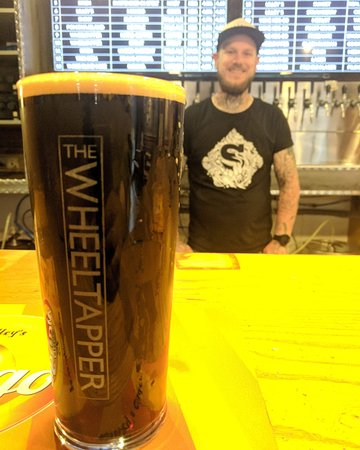 The Wheeltapper: Pleased as punch with the new beer