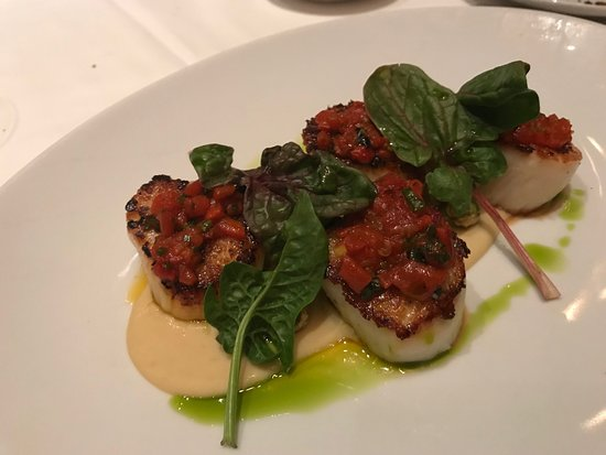 Union Square Cafe: Scallops at Union Sq cafe