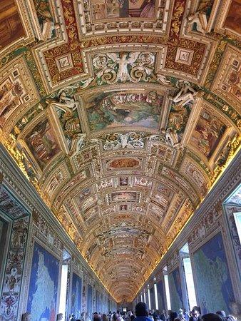 Μουσεία του Βατικανού: ceiling