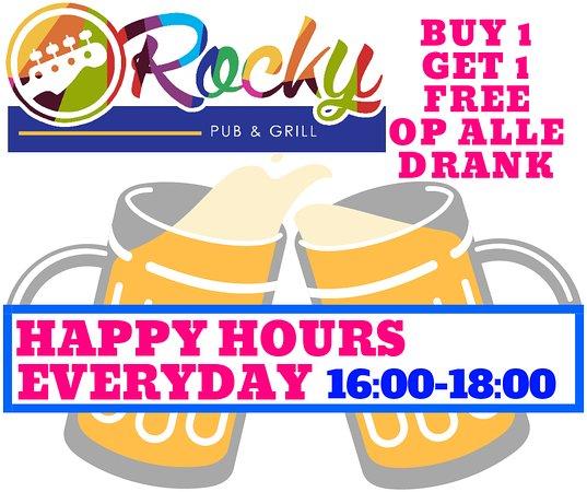 Klerksdorp, South Africa: happy hours everyday