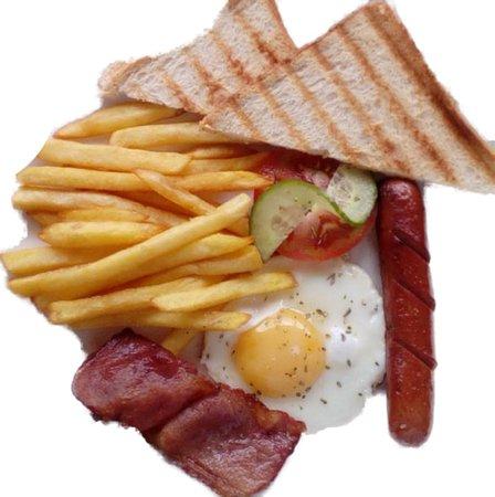Klerksdorp, South Africa: breakfast from R19