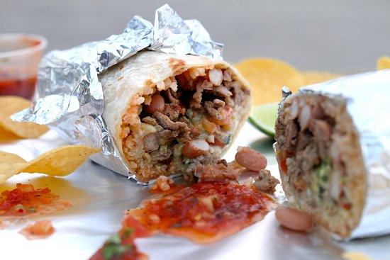 Oakdale, CA: Carne Asada Burrito