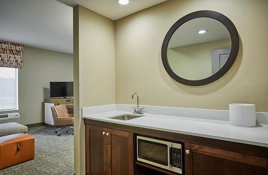 Roseburg, Oregón: Suite wet bar