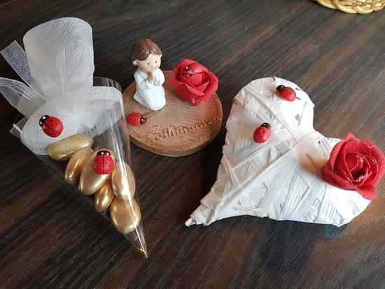 Arth, Szwajcaria: Auch kleine Geschenke und tolle Tischdekos bieten wir unseren Gästen.