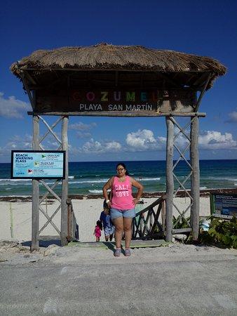 Playa de San Martin: Playa san martín