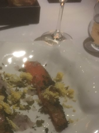 TRB Hutong: Gravlax with trimmings
