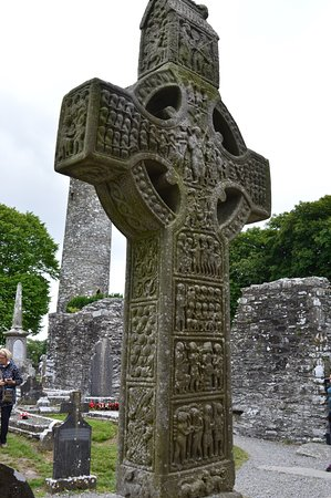 County Louth, Ireland: Haute croix