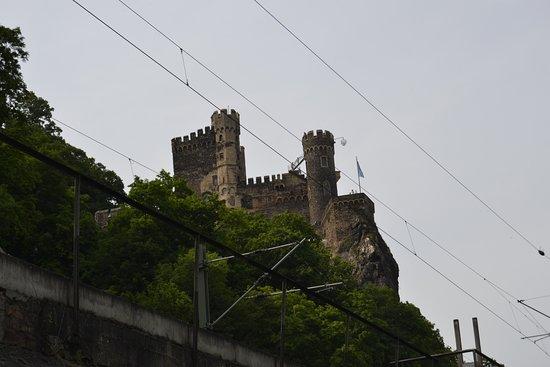 Trechtingshausen, Tyskland: Exterior del castllo