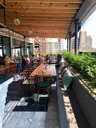 Terrace Sitting Area Outside Part Picture Of Terraza Cha