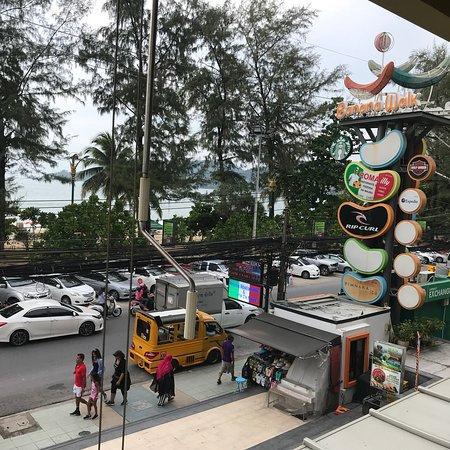 Banana walk street at Patong beach