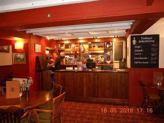 Taken inside the Anchor inn very clean