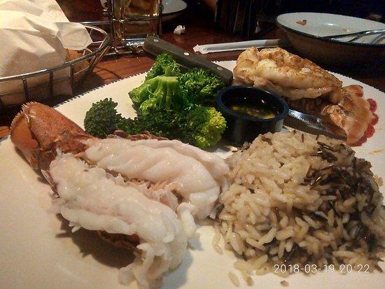Red Lobster: lobster