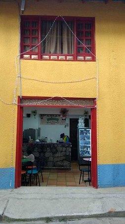 Raquira, Colombia: Sitio muy bien atendido helados artesanales