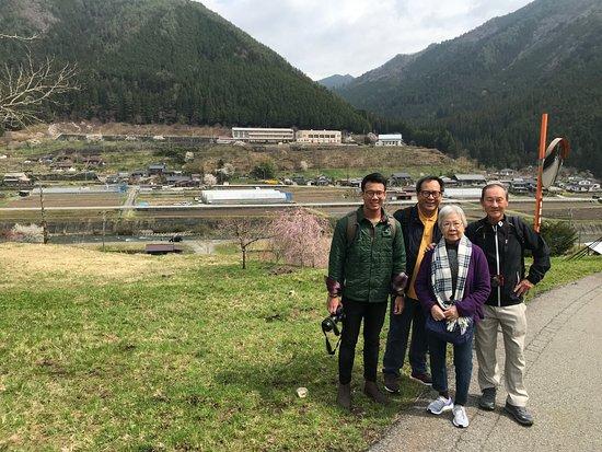 UMESEKO TOUR: Walking in a super rural village