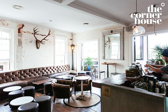 The Corner House: The Living Room at the Bar