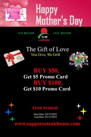 University Place, WA: MOTHER'S DAY GIFT PROMOTION