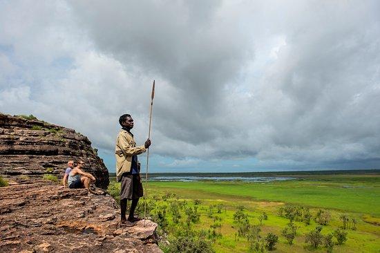 Kakadu National Park, Australië: Lookout from Ubirr